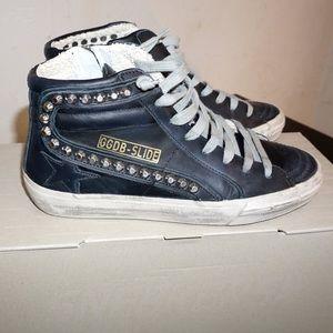 Golden Goose Slide Sneaker with Stud